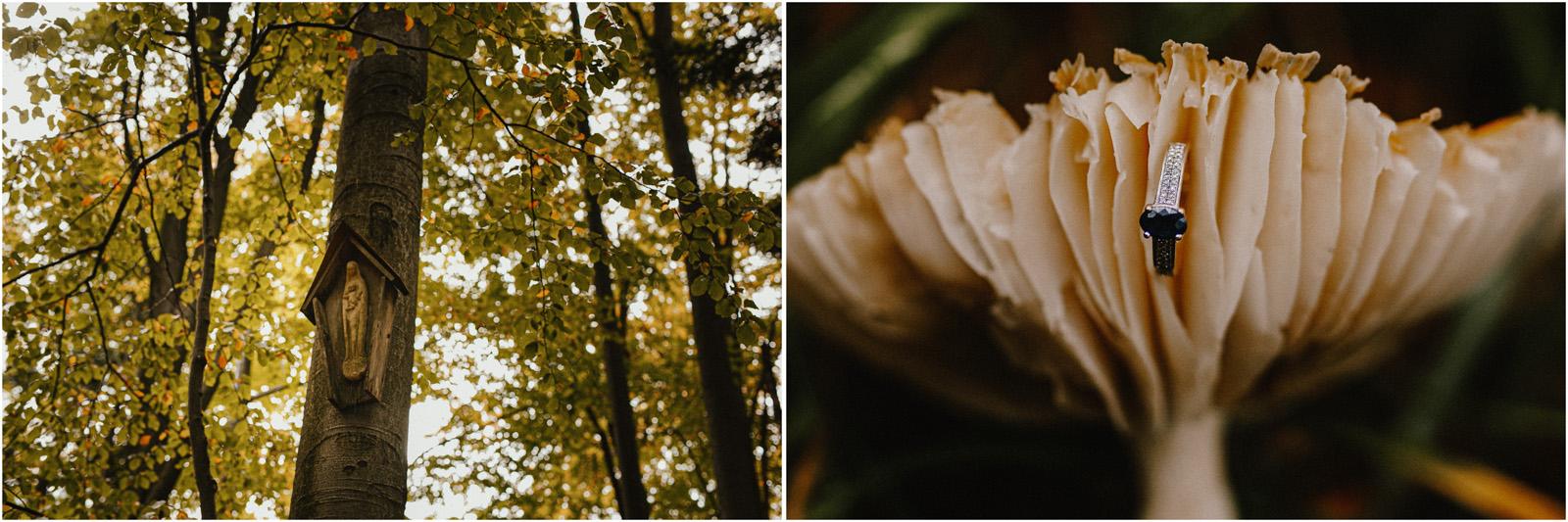 Ania & Szczepan | leśna sesja w Bieszczadach 7