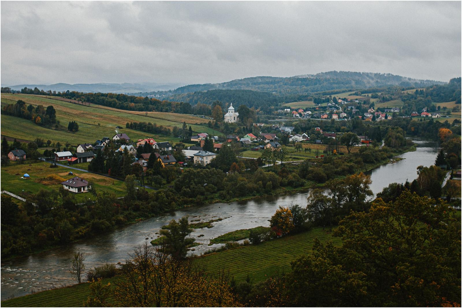 Ania & Szczepan | leśna sesja w Bieszczadach 25