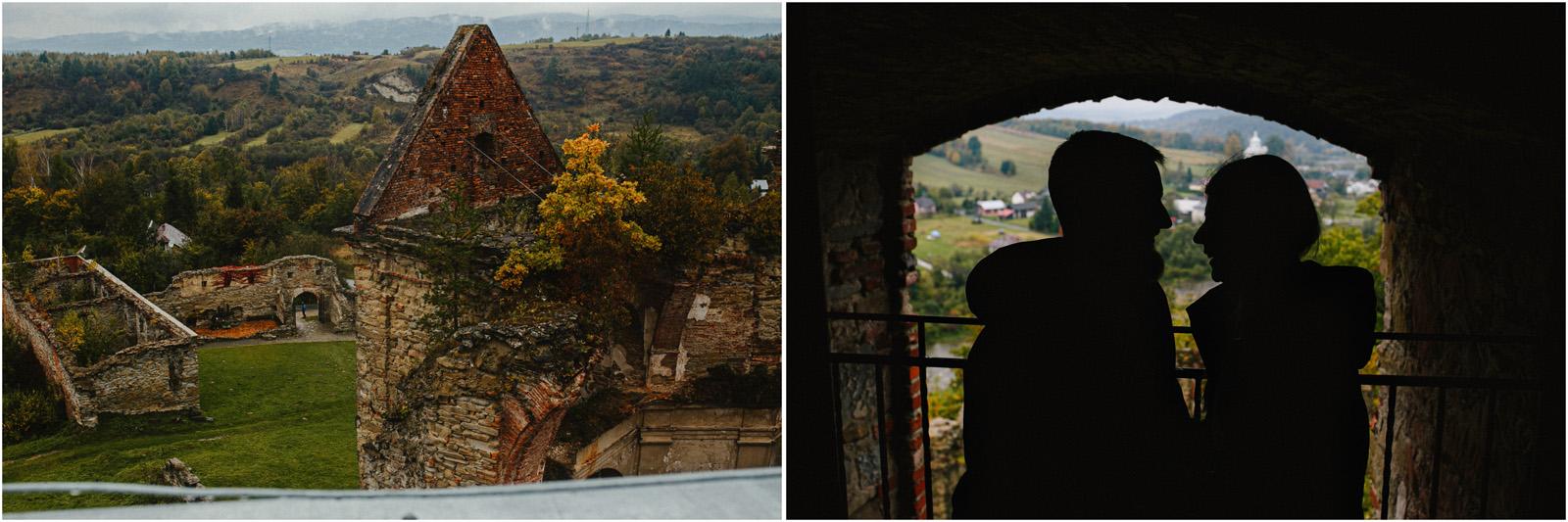 Ania & Szczepan | leśna sesja w Bieszczadach 21