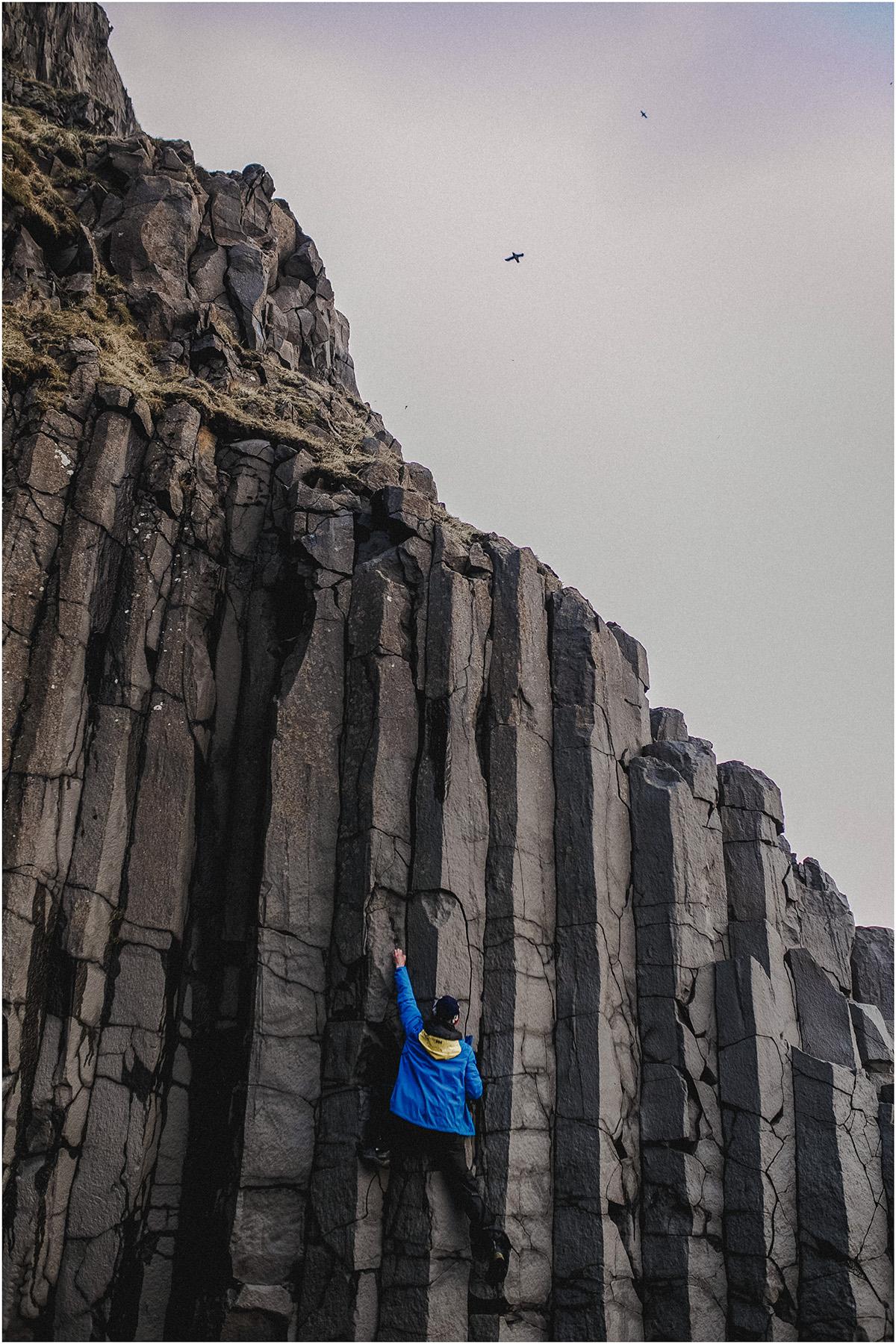 ICELAND III niebieska i czarna plaża 12