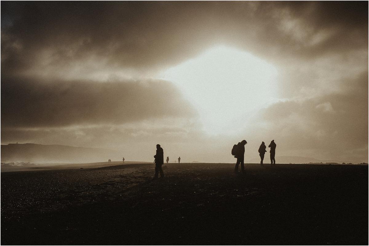 ICELAND III niebieska i czarna plaża 19