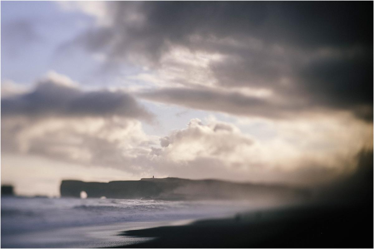 ICELAND III niebieska i czarna plaża 9