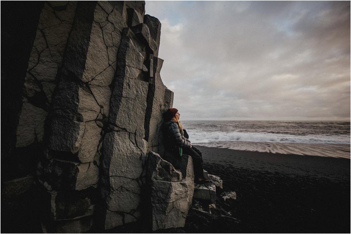 ICELAND III niebieska i czarna plaża 8