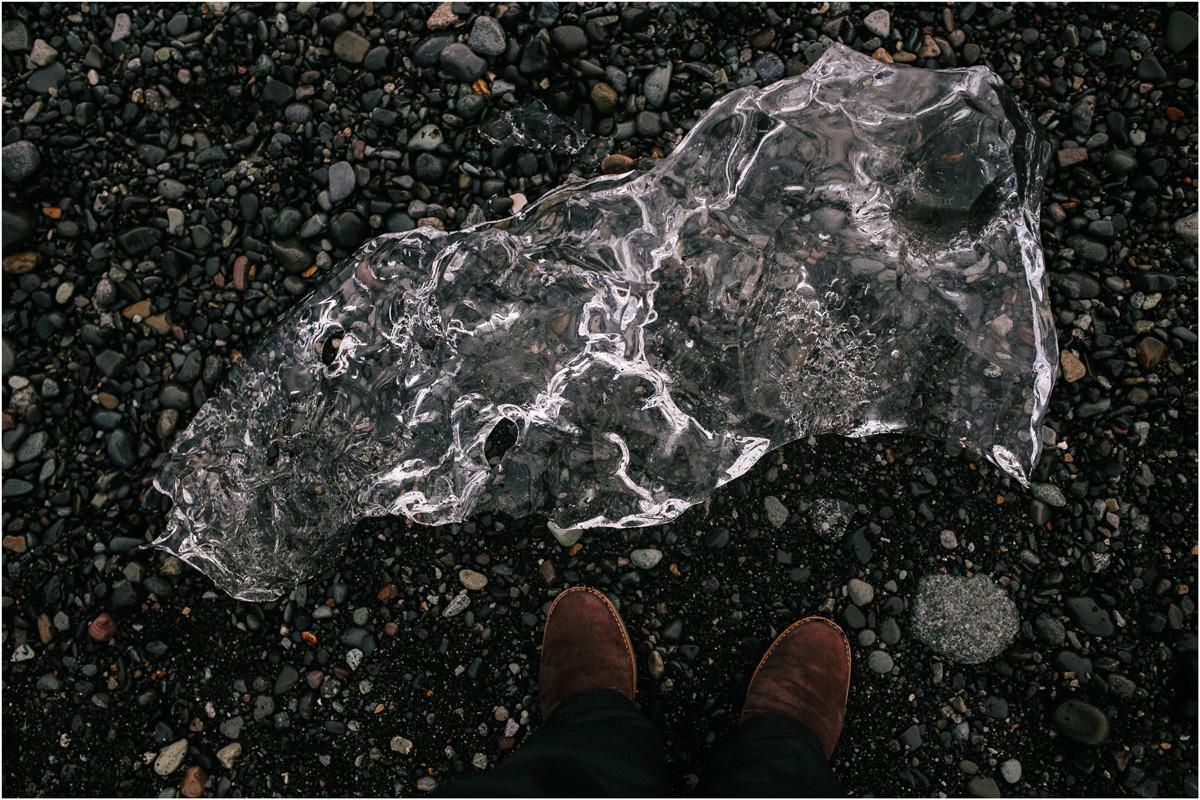 ICELAND III niebieska i czarna plaża 32