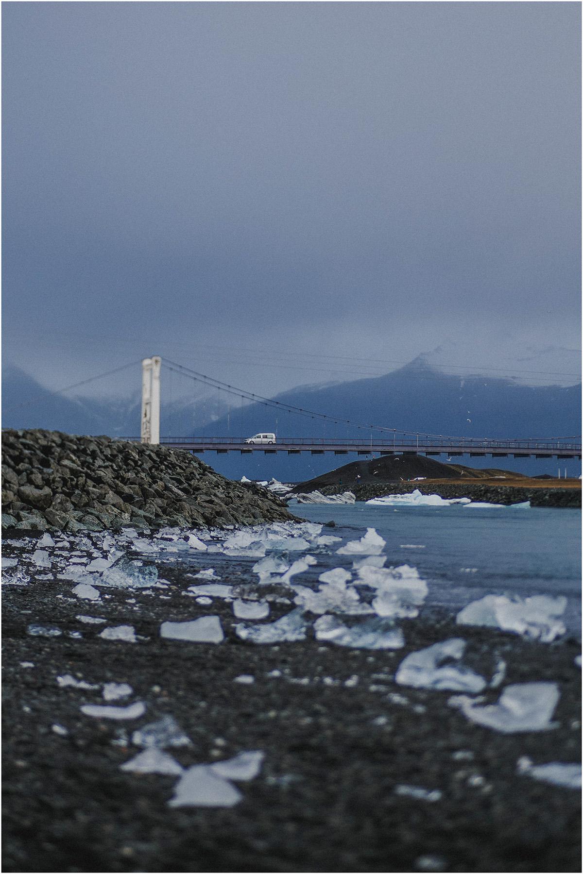 ICELAND III niebieska i czarna plaża 31