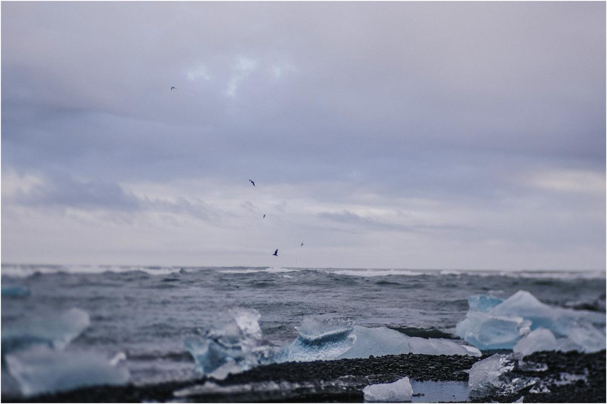 ICELAND III niebieska i czarna plaża 29