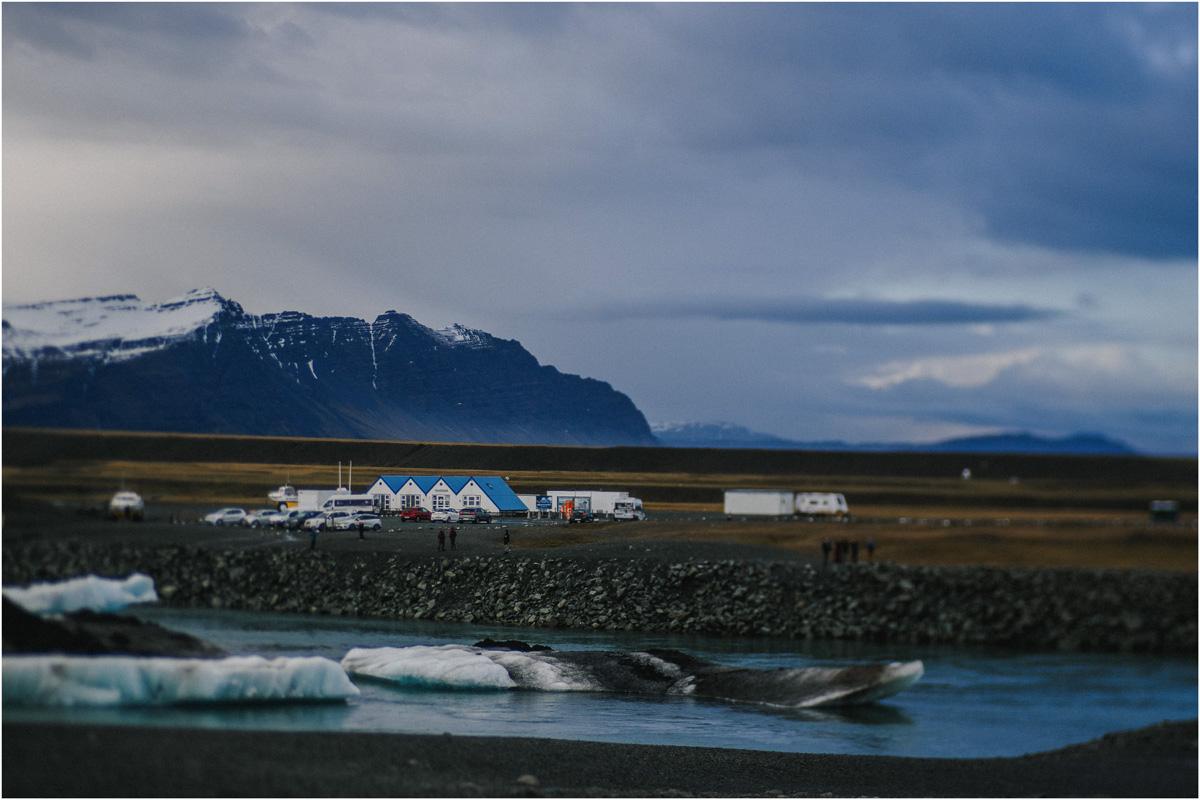 ICELAND III niebieska i czarna plaża 34