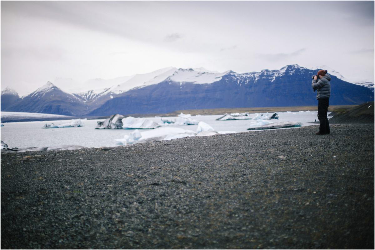 ICELAND III niebieska i czarna plaża 35