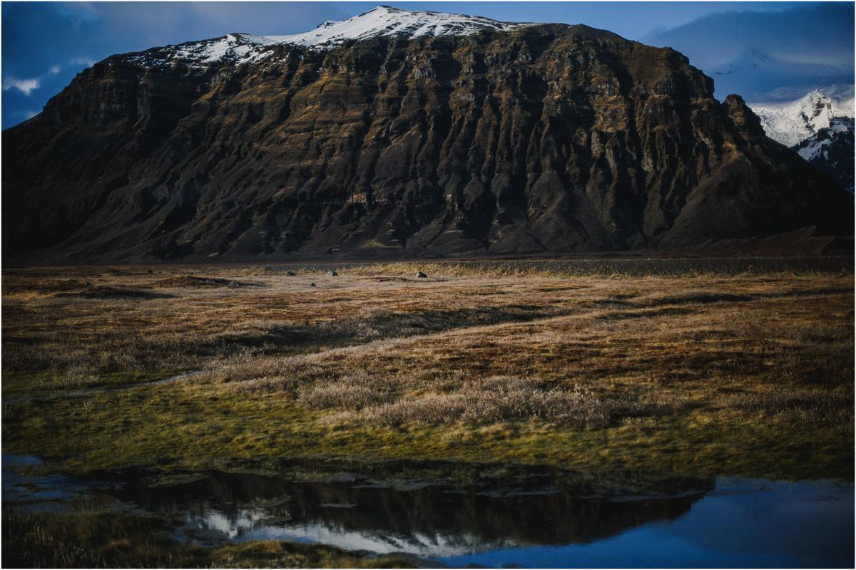 ICELAND III niebieska i czarna plaża 40