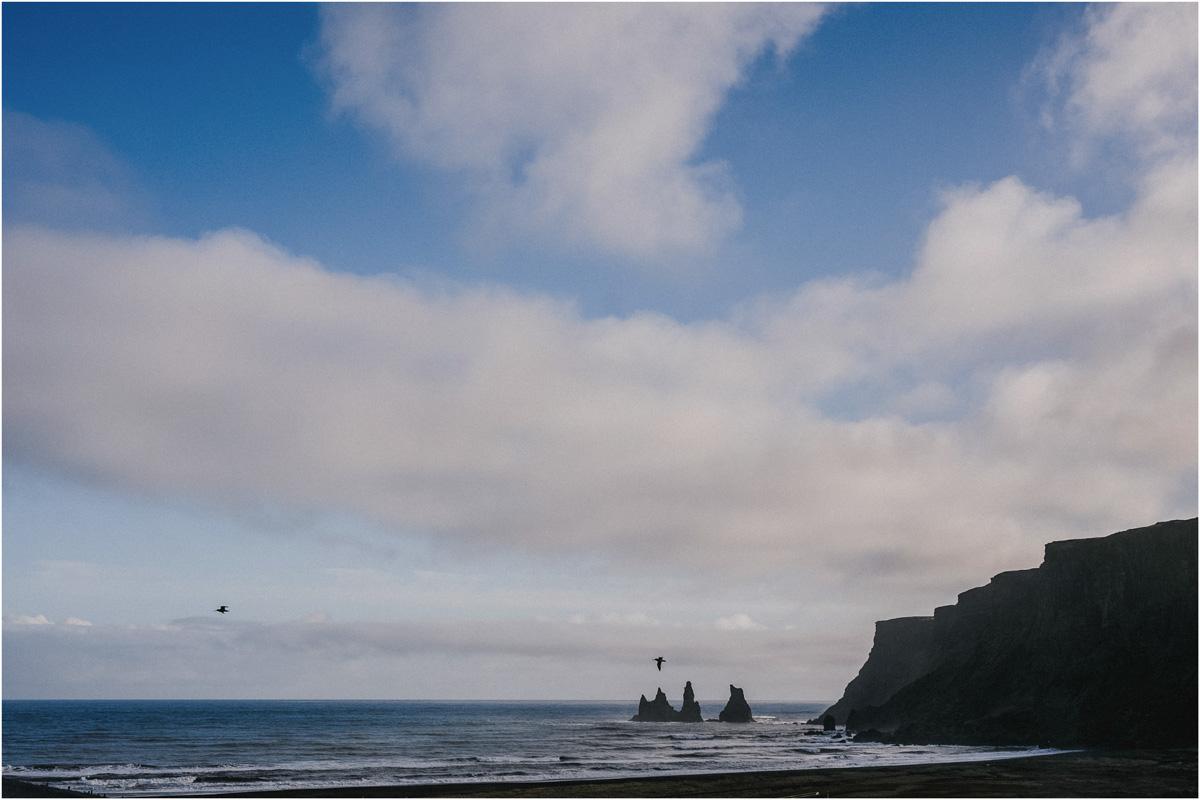 ICELAND III niebieska i czarna plaża 1