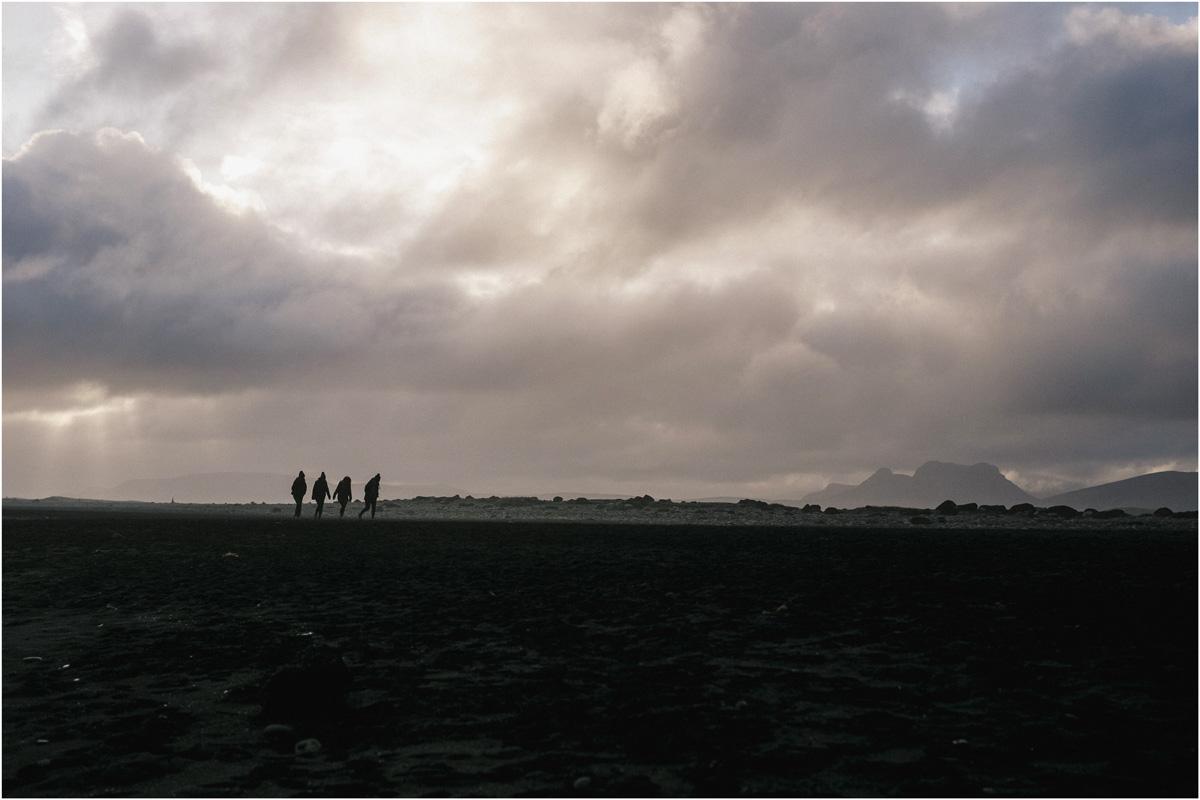 ICELAND III niebieska i czarna plaża 11