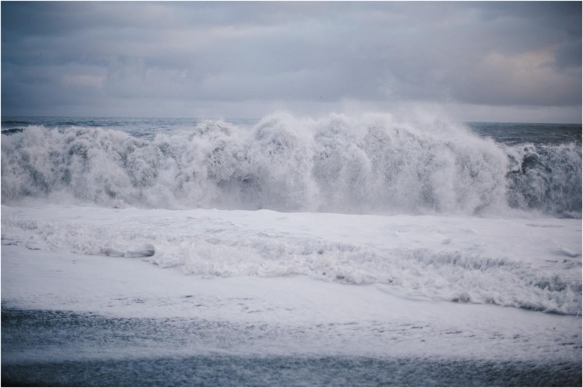 ICELAND III niebieska i czarna plaża 2