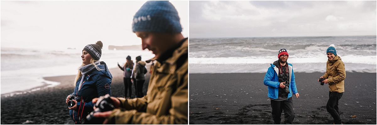 ICELAND III niebieska i czarna plaża 14