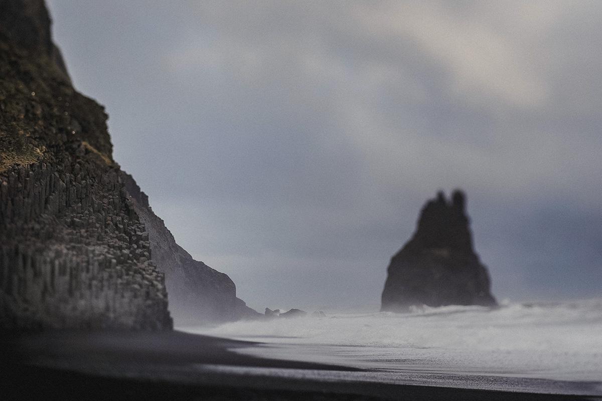 ICELAND III niebieska i czarna plaża 7
