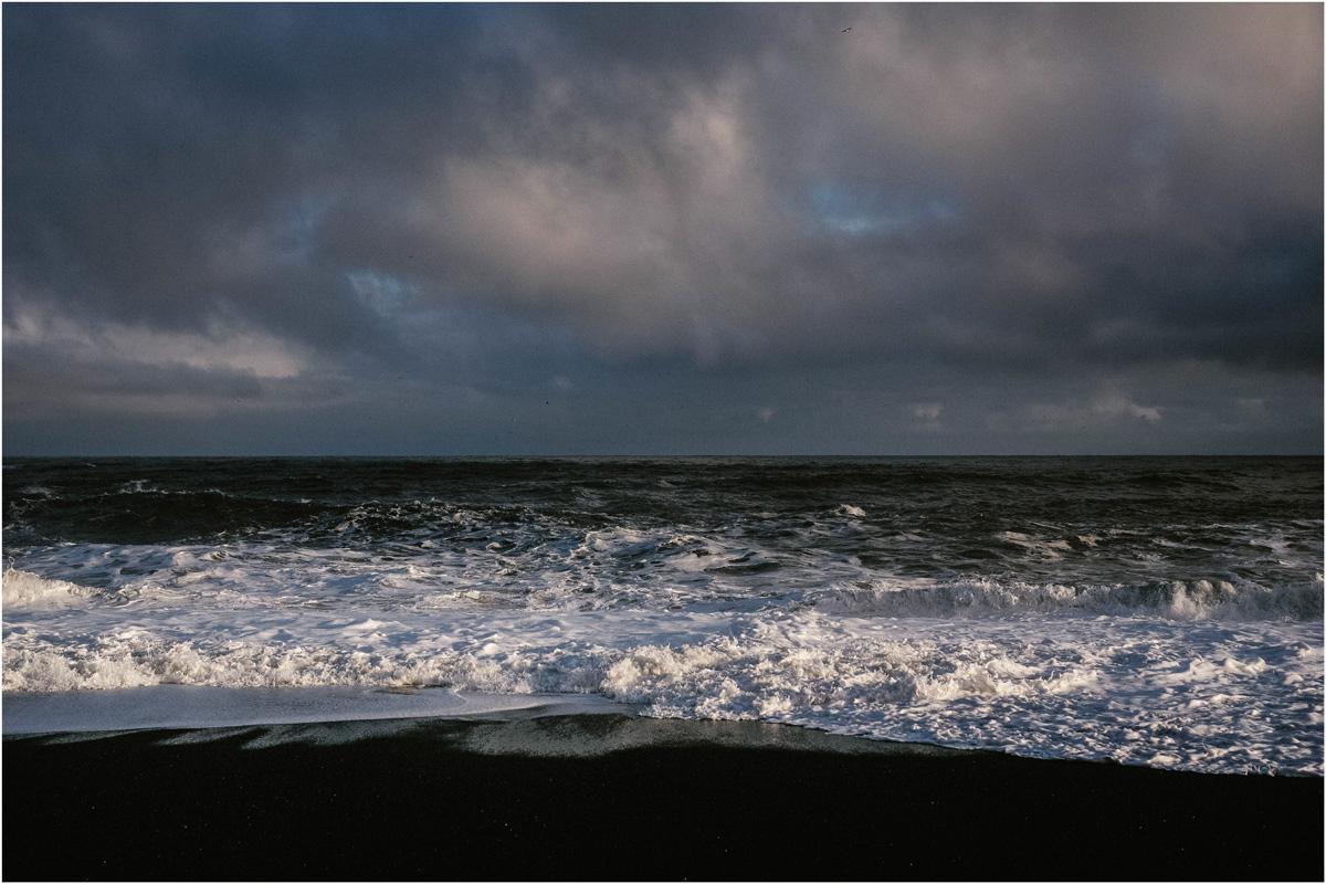 ICELAND III niebieska i czarna plaża 10