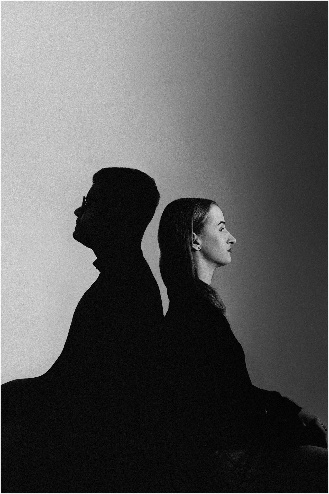 Joanna & Andrzej | czarno-biała sesja 19