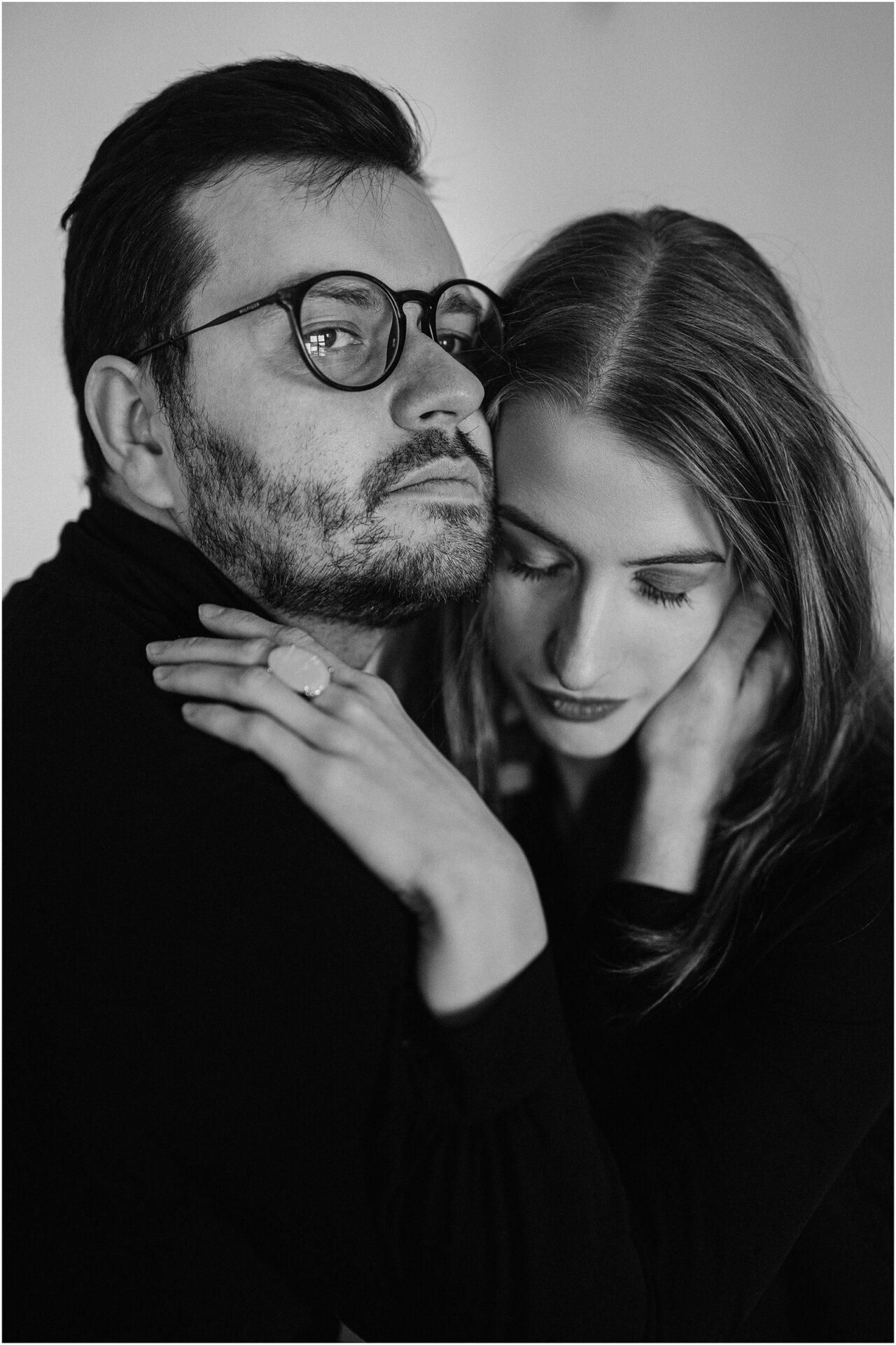 Joanna & Andrzej | czarno-biała sesja 16