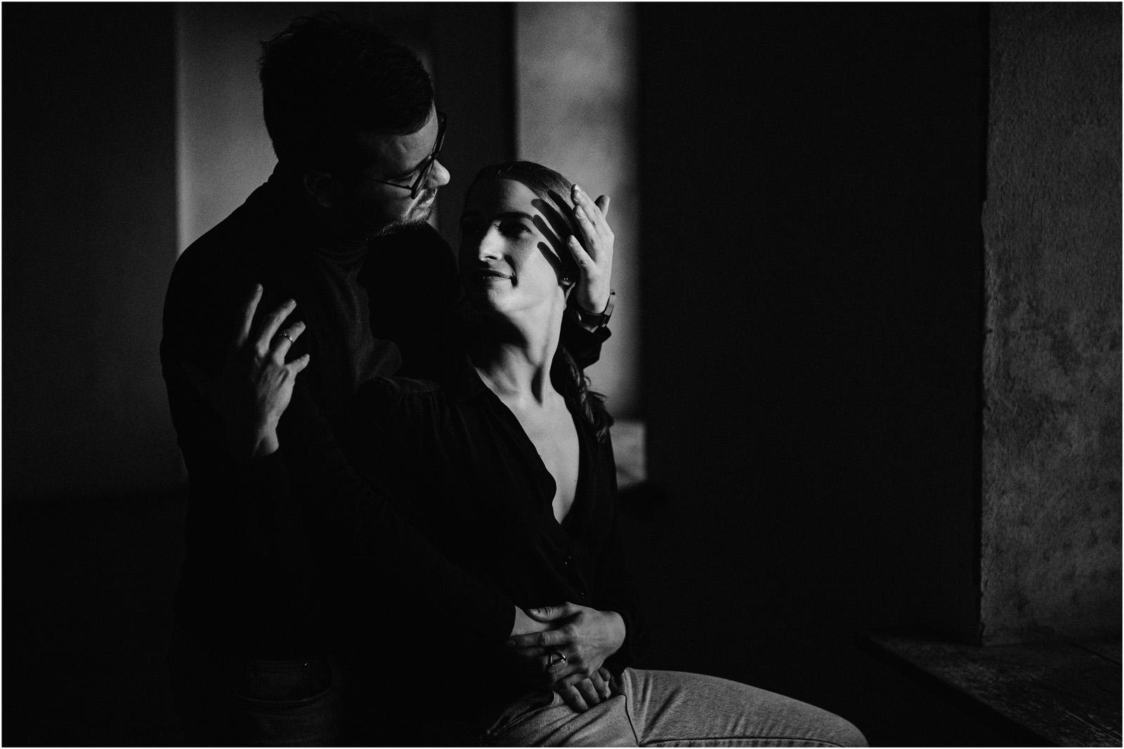 Joanna & Andrzej | czarno-biała sesja 2