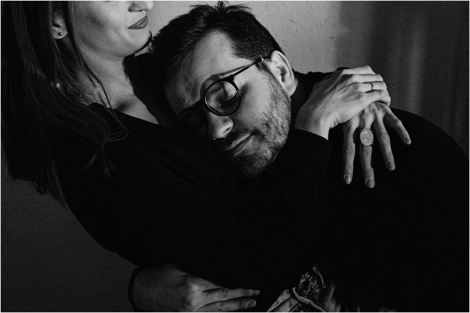 Joanna & Andrzej | czarno-biała sesja 11