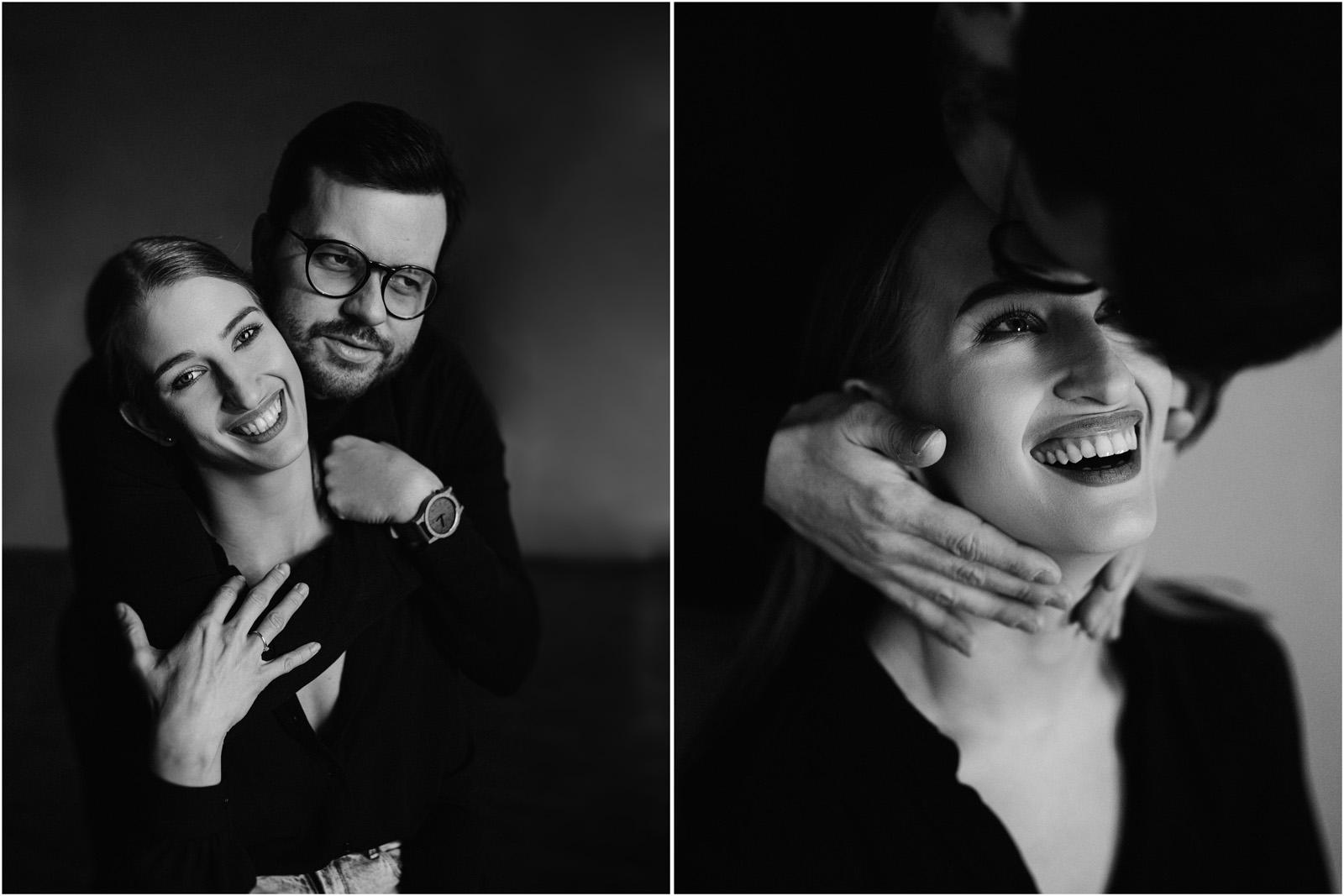 Joanna & Andrzej | czarno-biała sesja 3