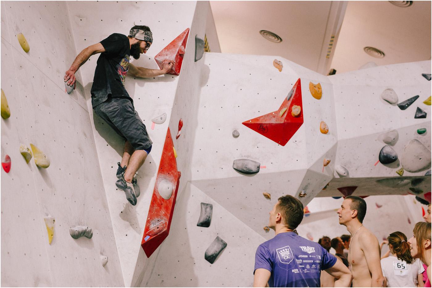 Igrzyska boulderowe w Mobiusie 3