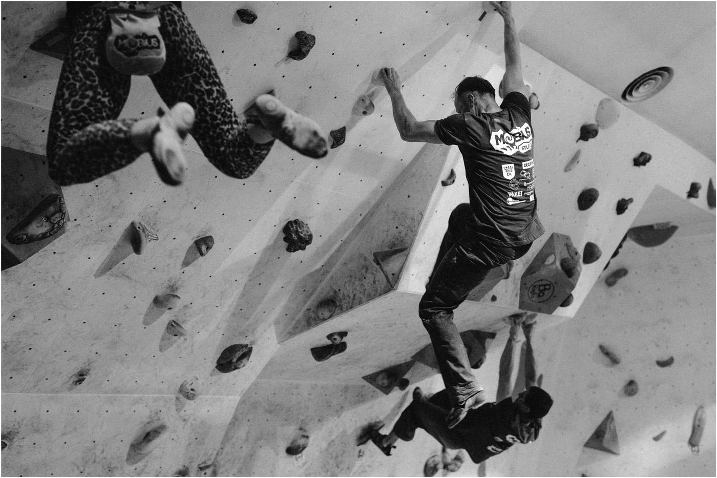 Igrzyska boulderowe w Mobiusie 17