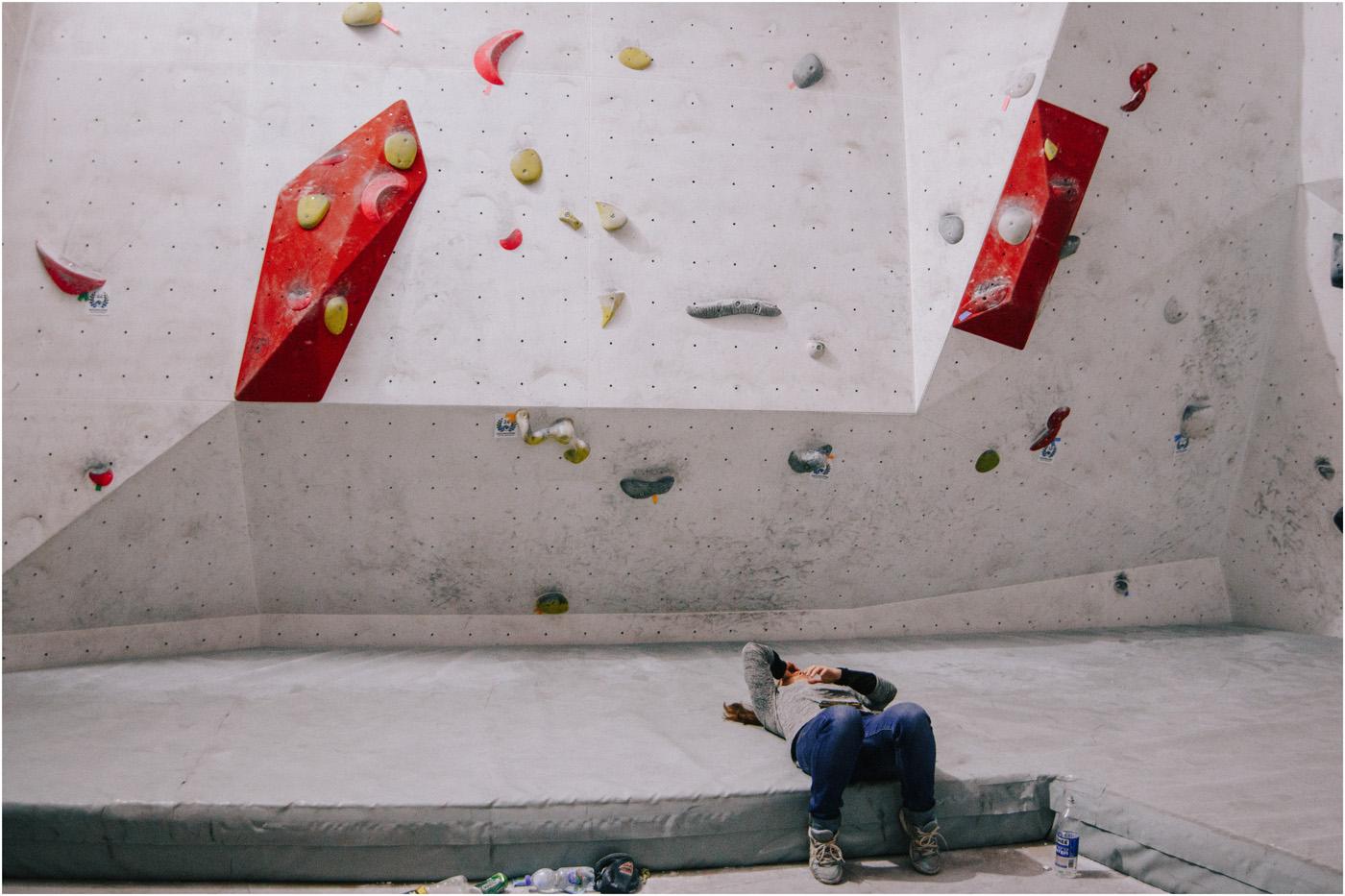 Igrzyska boulderowe w Mobiusie 23
