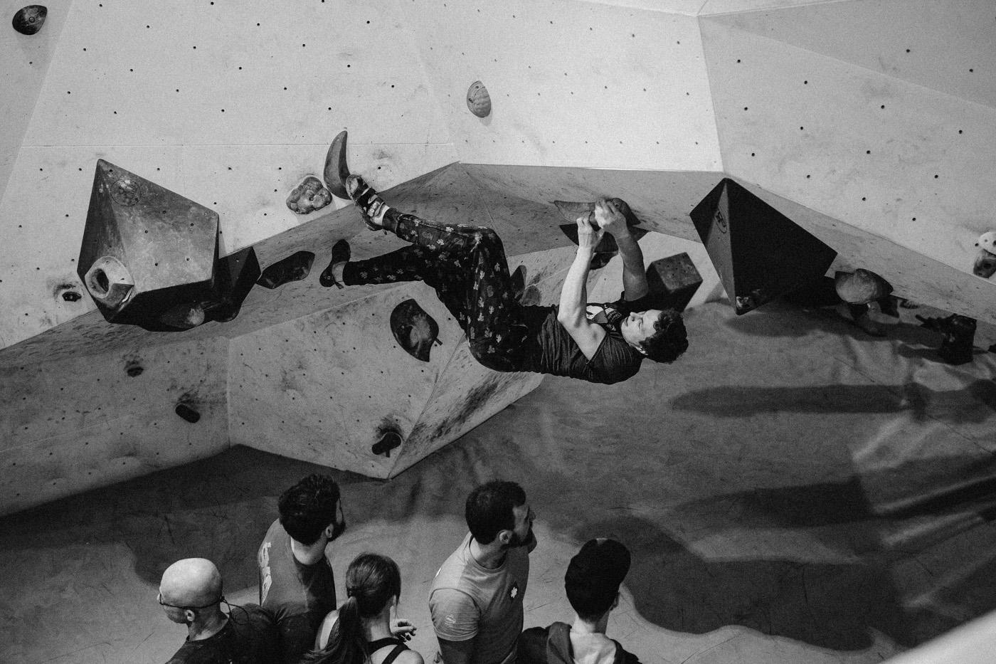 Igrzyska boulderowe w Mobiusie 11