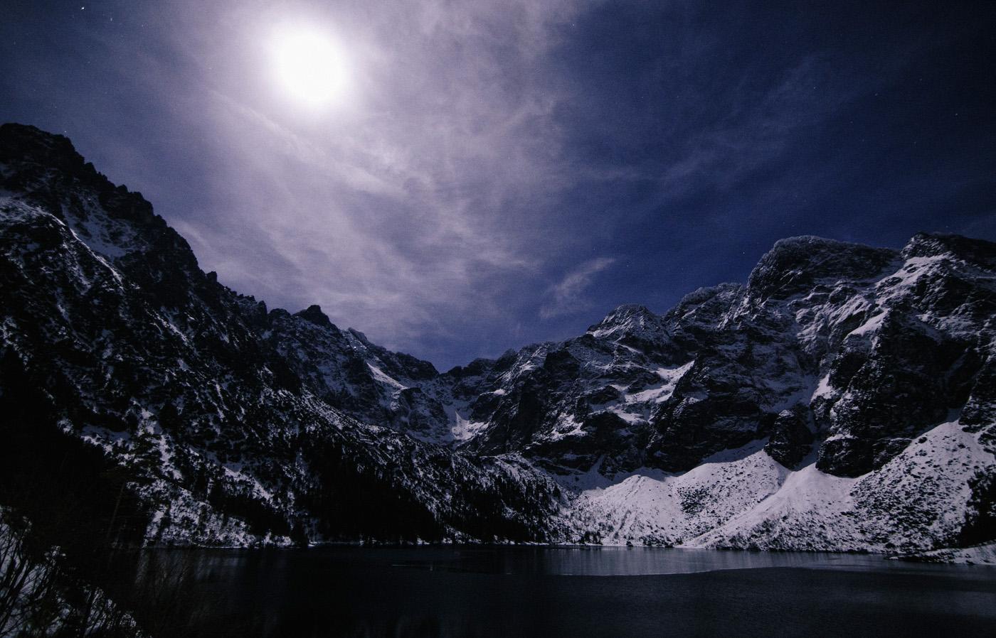 Zima nad Morskim Okiem 19