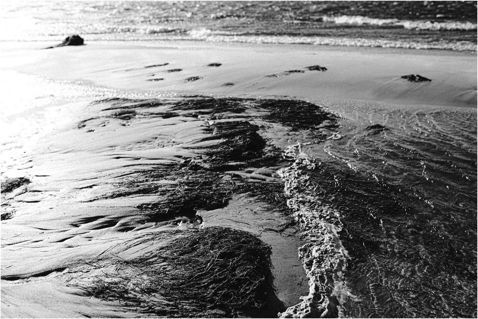 Ania & Szczepan | sesja nad morzem (b&w) 40