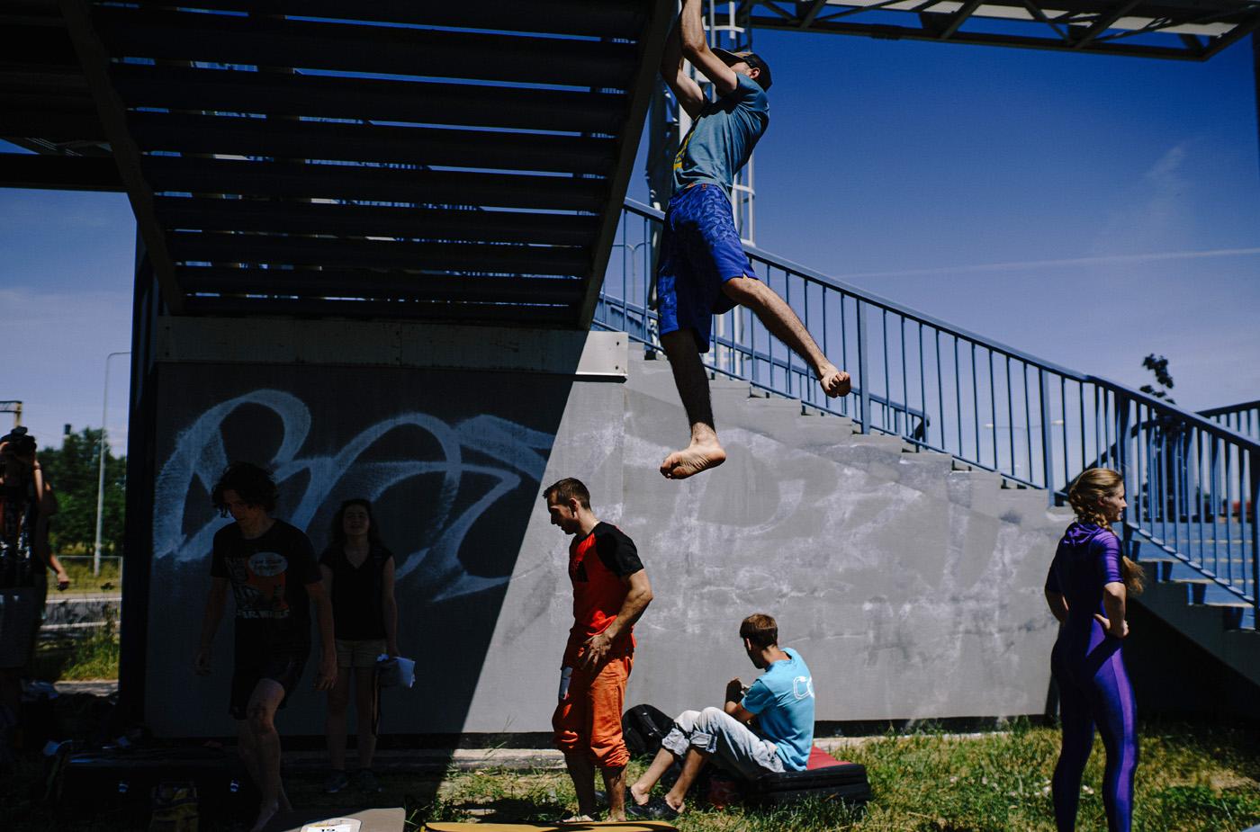 KSF # 5 Urban climbing 15
