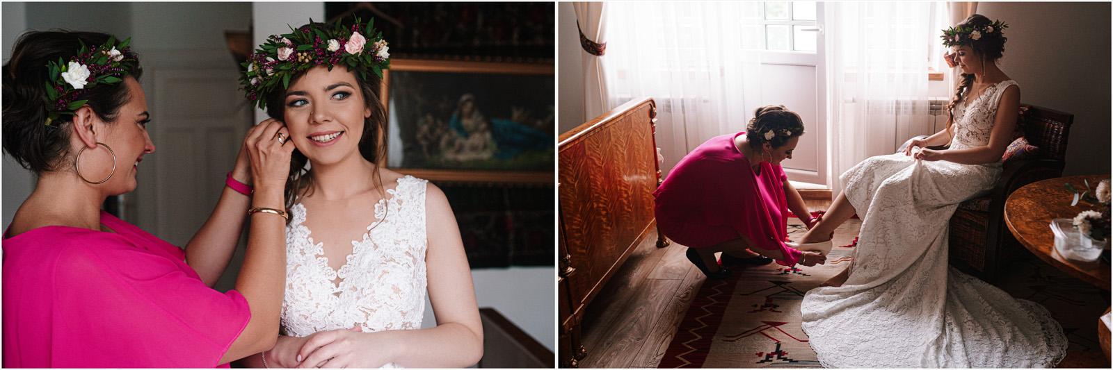 Kasia & Kamil | rustykalny ślub w Folwarku u Różyca 6