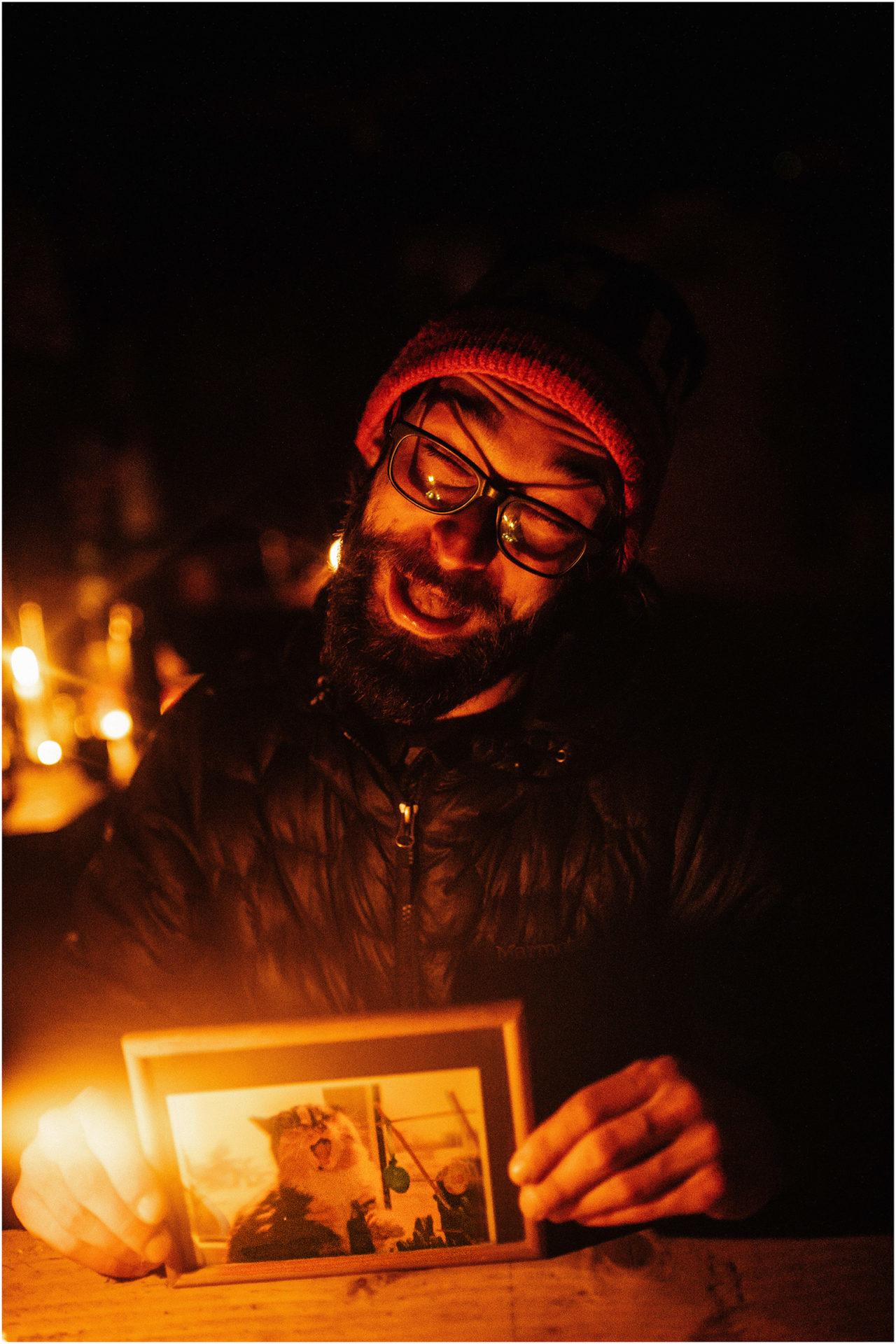 Jesień w Chatce Puchatka, czyli kulisy sesji Gosi i Tomka 36