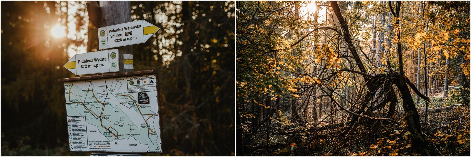 Jesień w Chatce Puchatka, czyli kulisy sesji Gosi i Tomka 17