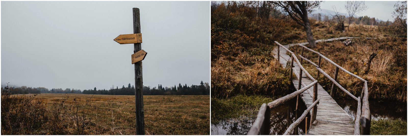 Jesień w Chatce Puchatka, czyli kulisy sesji Gosi i Tomka 5