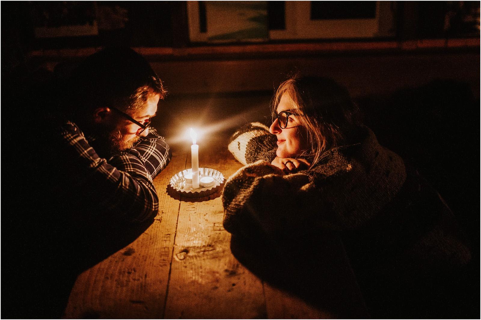 Jesień w Chatce Puchatka, czyli kulisy sesji Gosi i Tomka 37