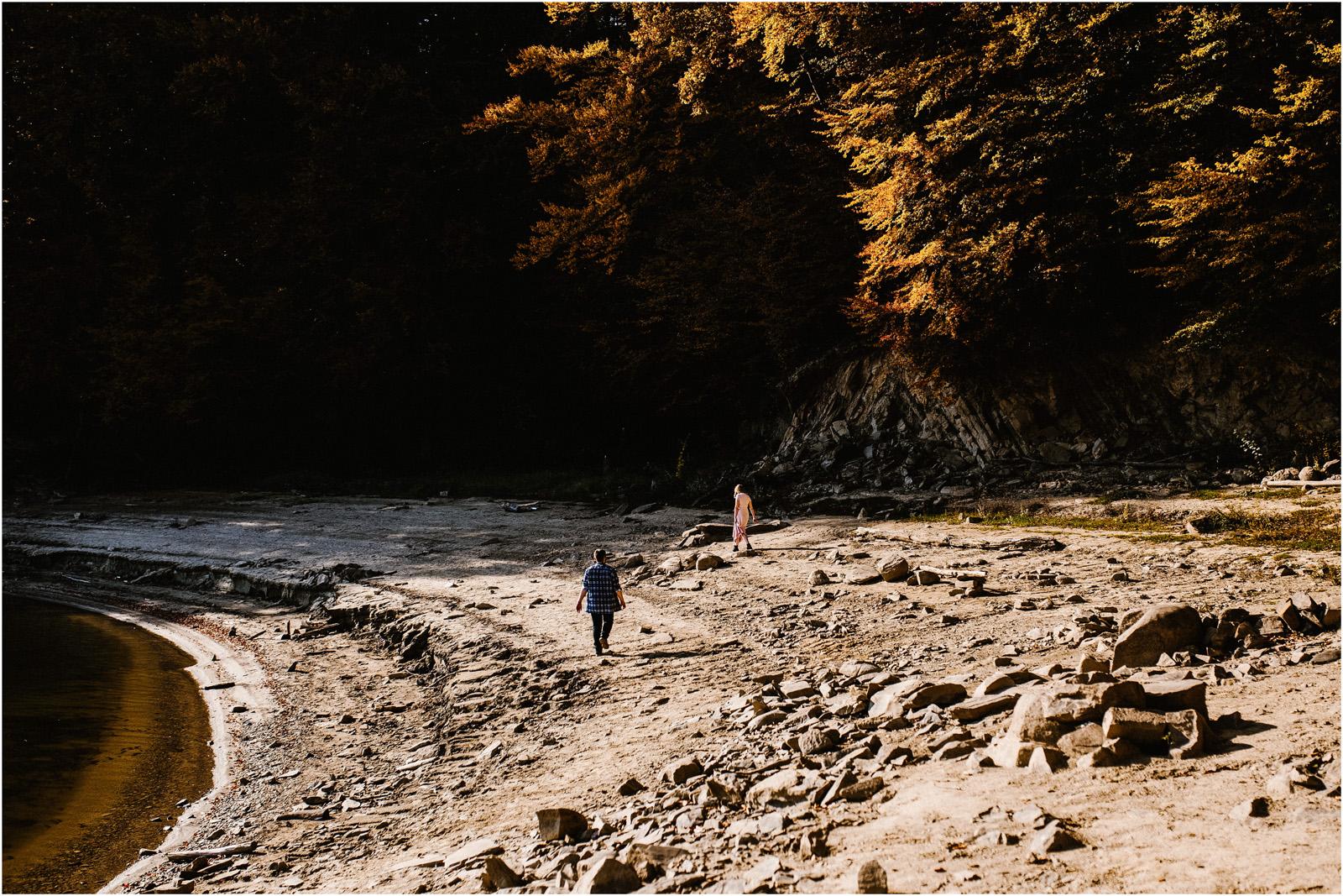 Jesień w Chatce Puchatka, czyli kulisy sesji Gosi i Tomka 84