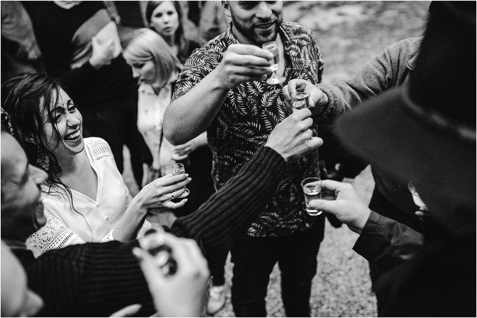 Agatka & Mati | garden party i impreza w stodole 37