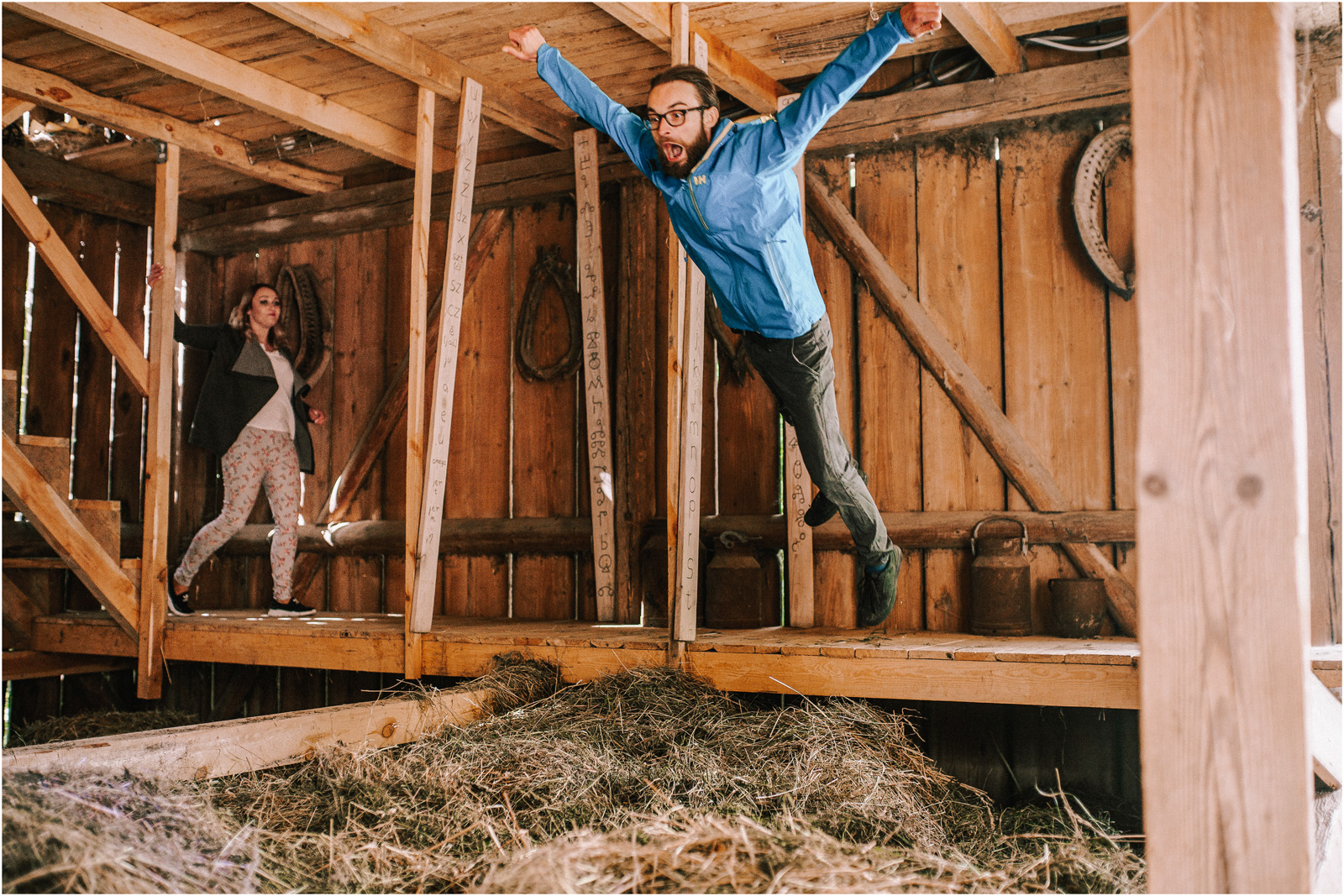 Agatka & Mati | garden party i impreza w stodole 45