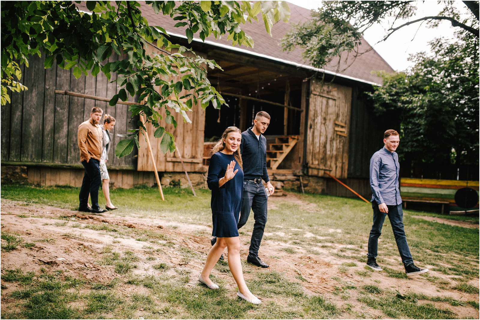 Agatka & Mati | garden party i impreza w stodole 28