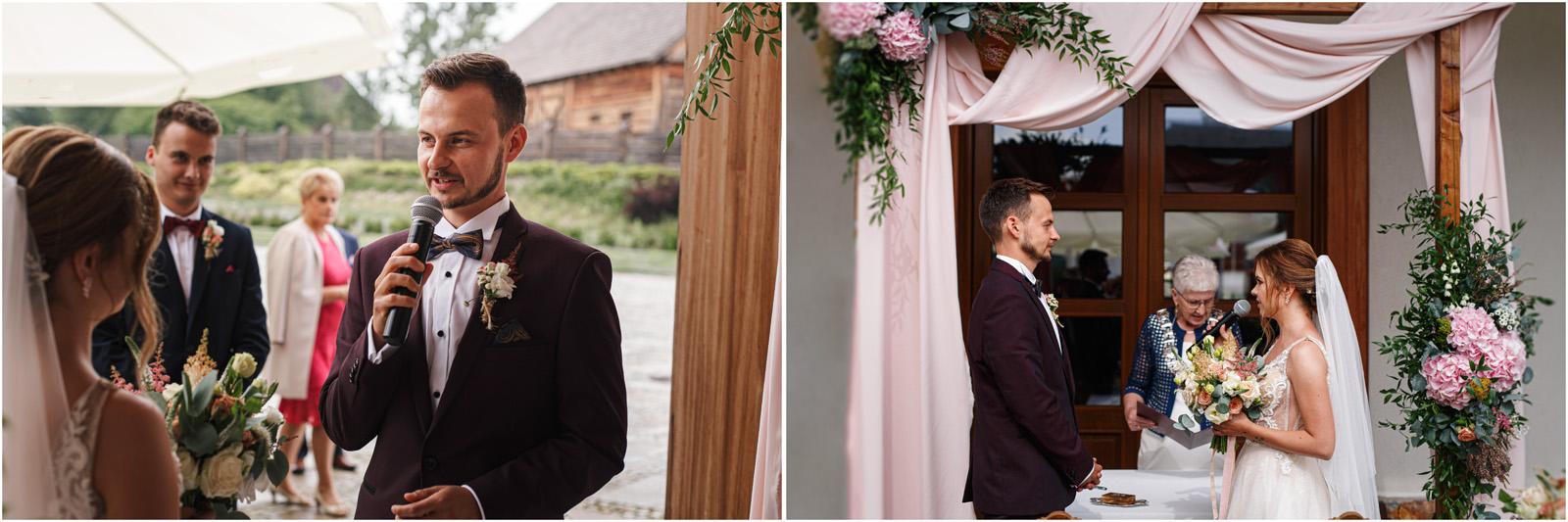 Kasia & Damian   ślub plenerowy w Kuźni Smaków i sesja w skansenie 35