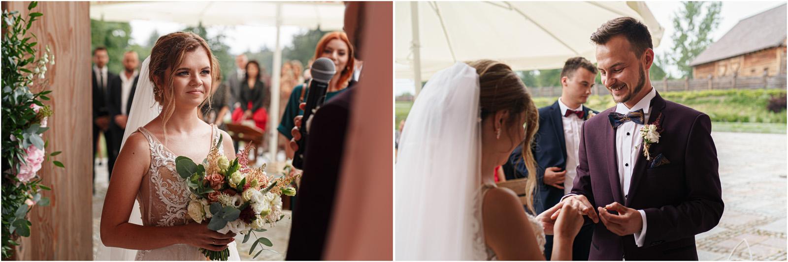 Kasia & Damian   ślub plenerowy w Kuźni Smaków i sesja w skansenie 37