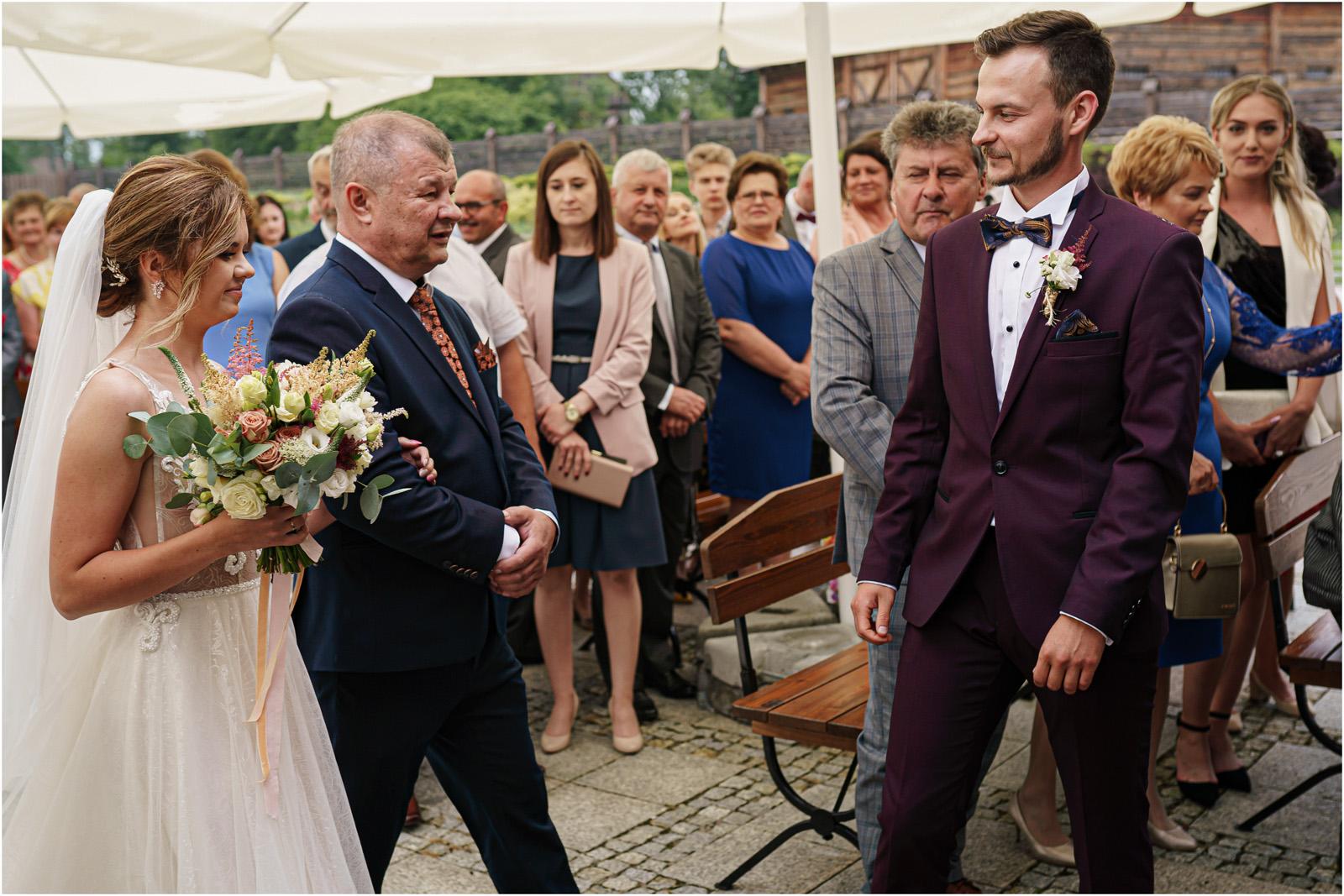 Kasia & Damian   ślub plenerowy w Kuźni Smaków i sesja w skansenie 30