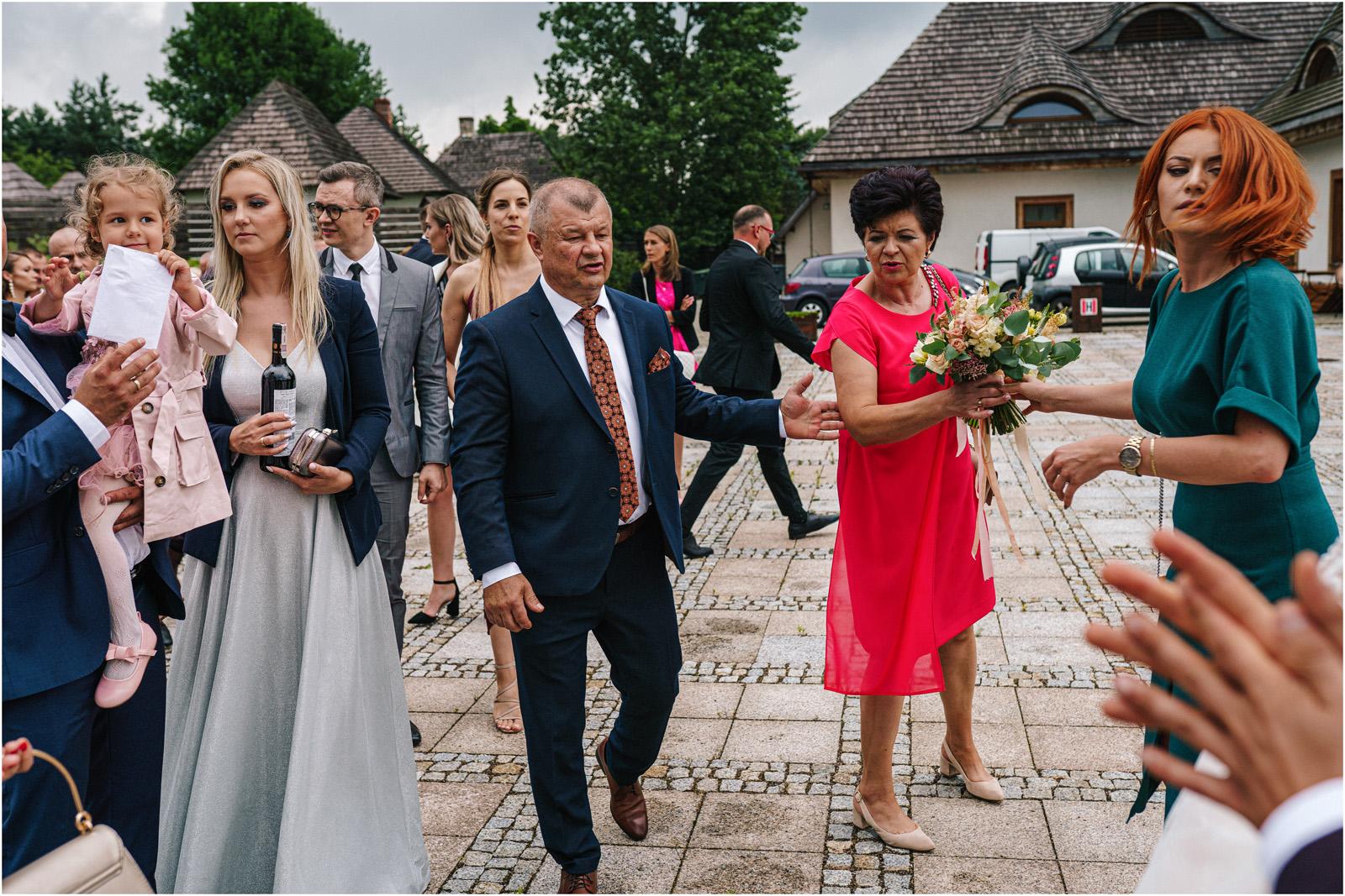 Kasia & Damian   ślub plenerowy w Kuźni Smaków i sesja w skansenie 45