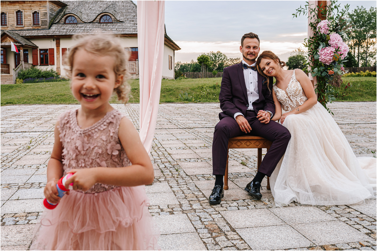 Kasia & Damian   ślub plenerowy w Kuźni Smaków i sesja w skansenie 50