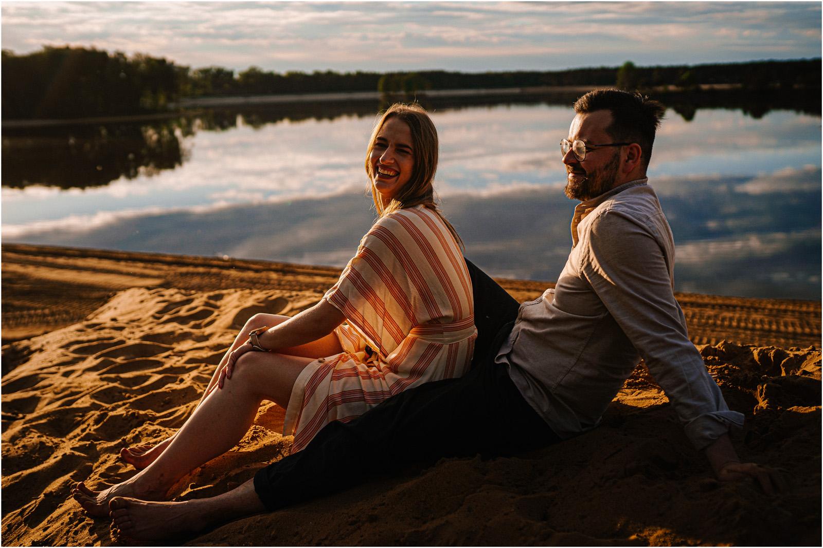 Asia & Andrzej | sesja nad jeziorem Sielpia 46