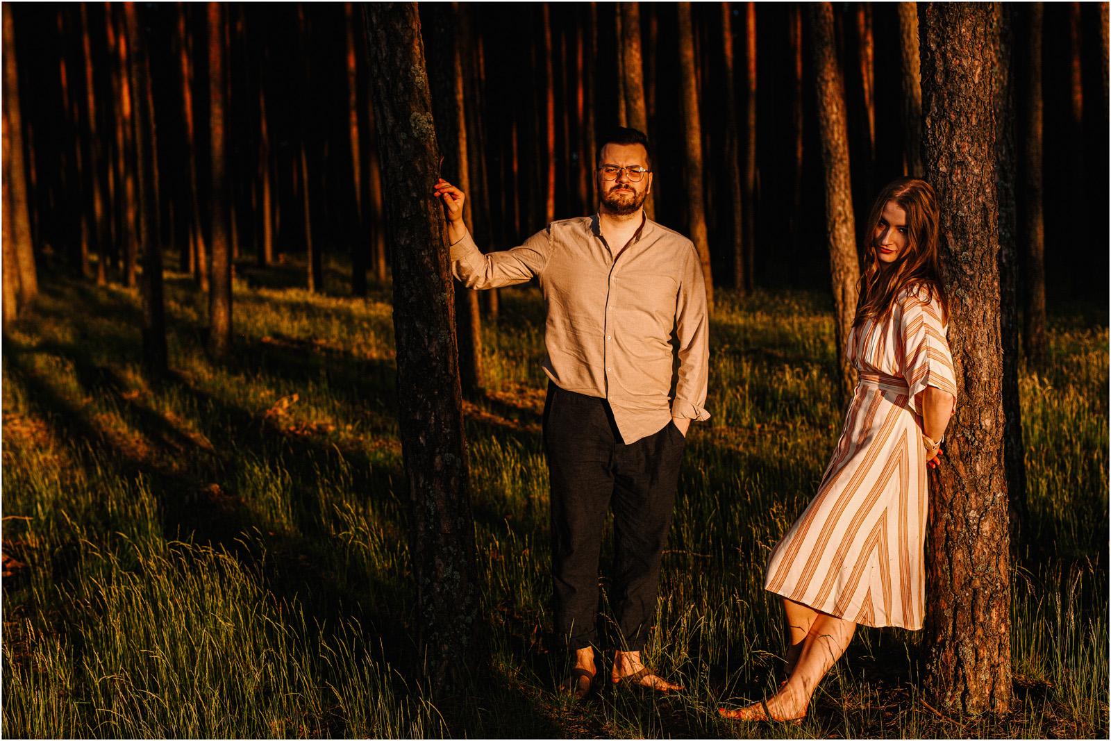 Asia & Andrzej | sesja nad jeziorem Sielpia 33
