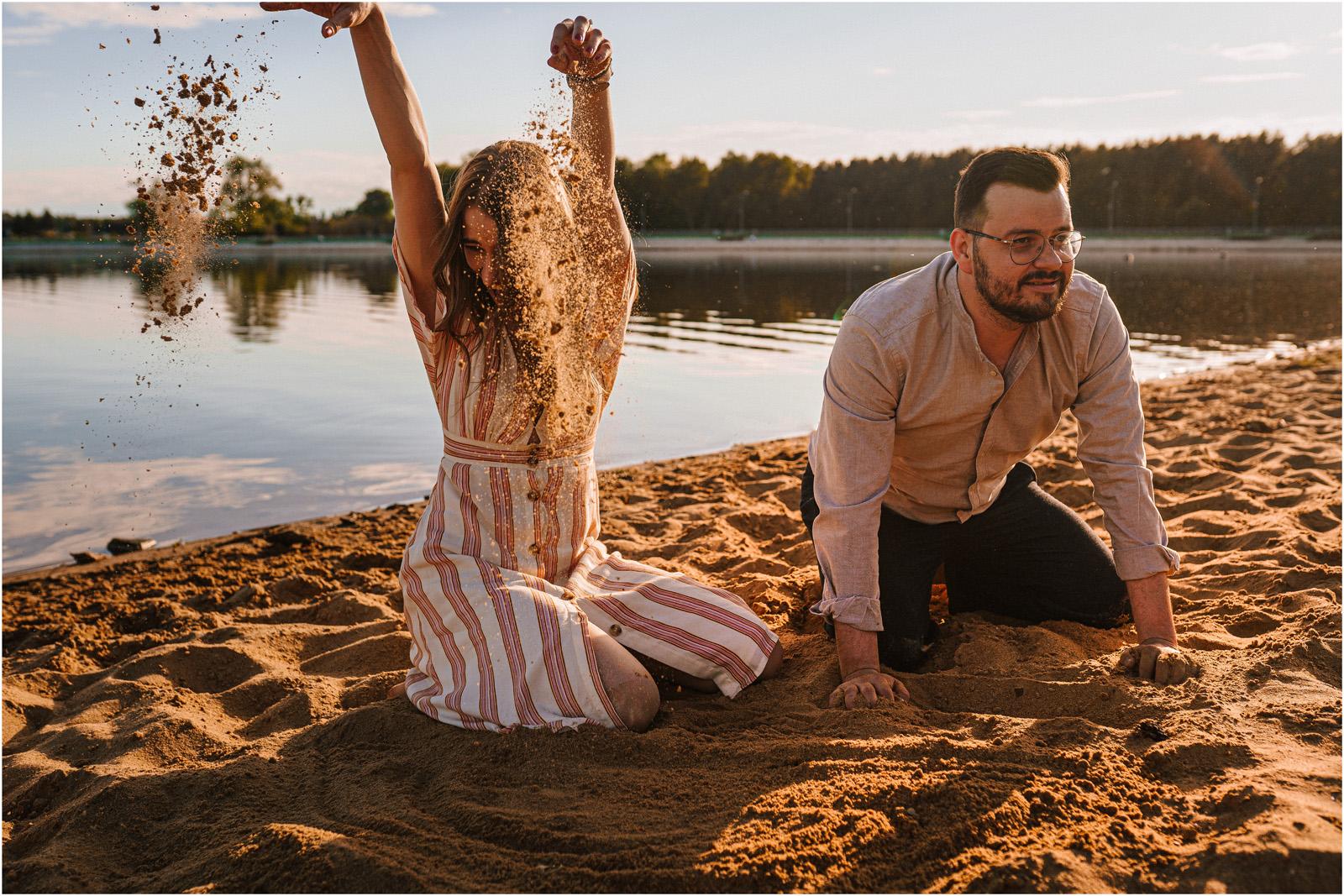 Asia & Andrzej | sesja nad jeziorem Sielpia 24
