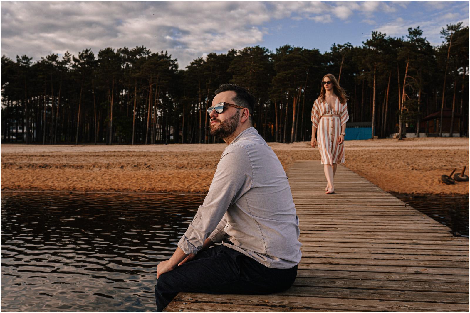 Asia & Andrzej | sesja nad jeziorem Sielpia 2
