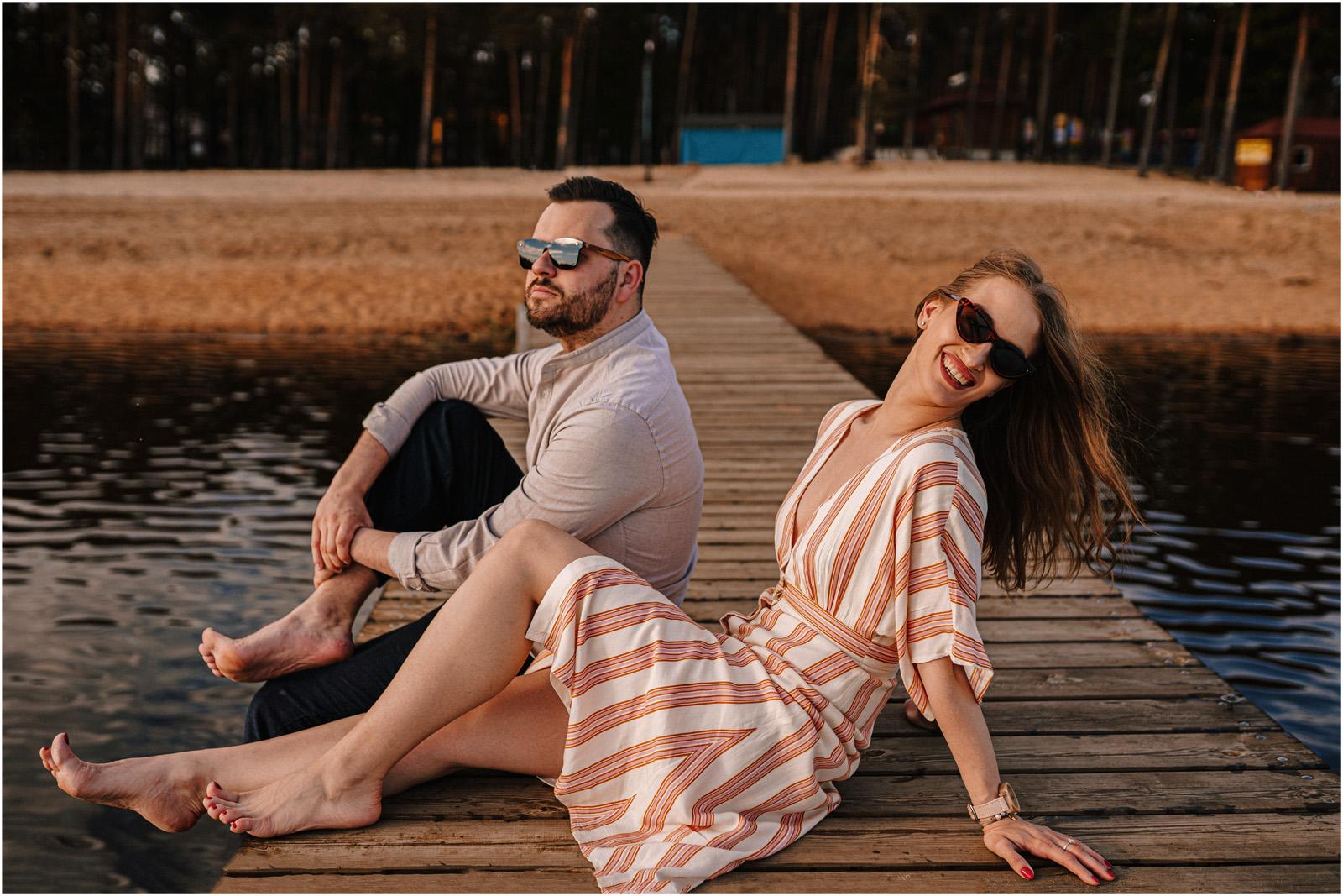 Asia & Andrzej | sesja nad jeziorem Sielpia 5